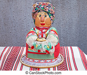 "Doll in scarf - Ukrainian ancient folklore product ""motanka""..."