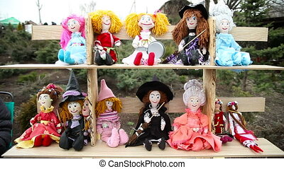 Doll on Shrove Tuesday. Russian holiday Maslenitsa