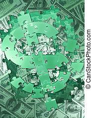 dollar, 04, puzzle