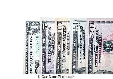 dollar américain, notes
