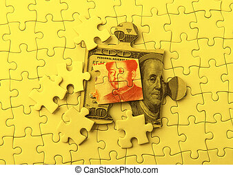 Dollar and Yuan on Puzzle
