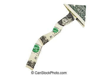 dollar arrow up