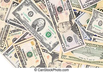 Dollar background.