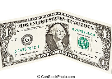 dollar, bankbiljet, een