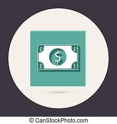 Dollar bill.