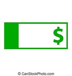 dollar, billet banque