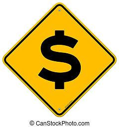 dollar cégtábla