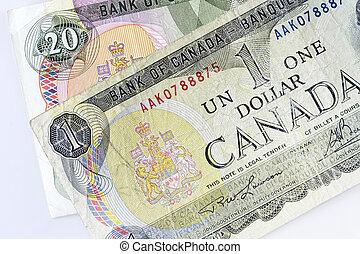 dollar, canadien