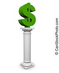 dollar column