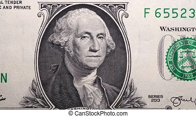 Dollar Currency - Close up footage of U.S. Dollar