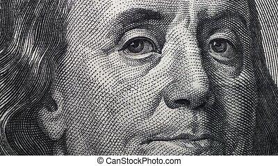 Dollar Currency - Close up footage of U.S. Dollar