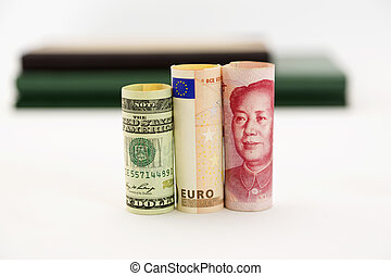 Dollar, euro, and yuan are global i