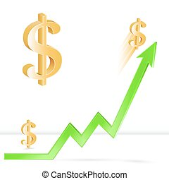 Dollar exchange rate growth - Dollar price up, growth of...