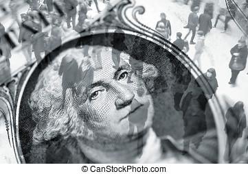 dollar, handel