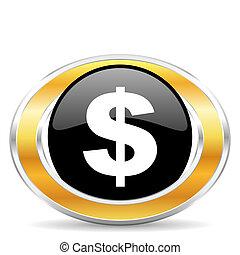 dollar icon,