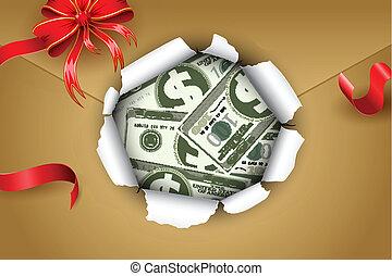 Dollar in Parcel
