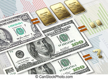dollar inflation compared to gold