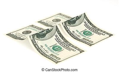 Dollar isolated