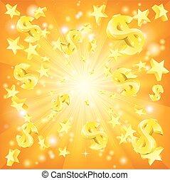 Dollar Jackpot Background