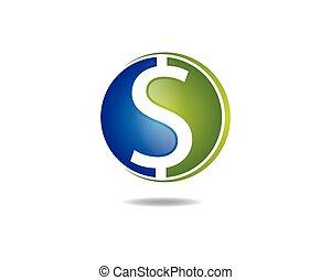 Dollar money vector icon