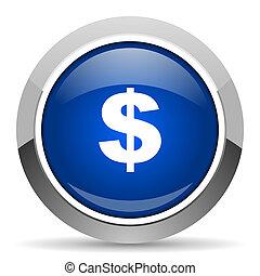 dollar, nous, icône