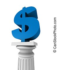 dollar on column