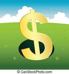 Dollar on the Hole