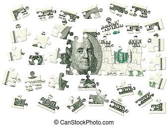 Dollar - puzzle