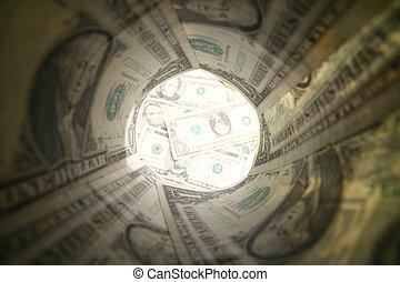 dollar, rör