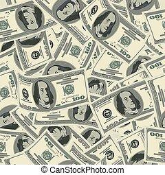 dollar seamless pattern.