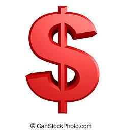Dollar sign Iillustration - Iillustration of Dollar sign