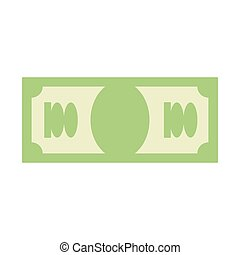 Dollar sign. Money symbol. Cash emblem. Financial Icons