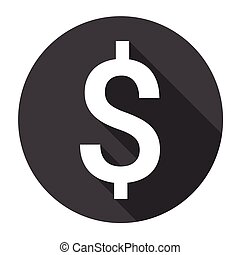 Dollar Sign Money Web Icon