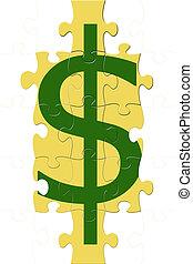 Dollar Sign Puzzle