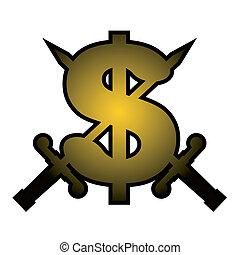 Dollar symbol - Creative design of dollar symbol