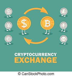 Dollar to bitcoin currency exchange. Bitcoin exchange with...