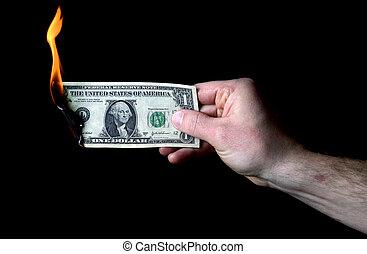 dollar to burn