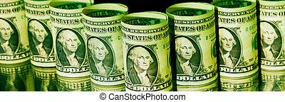 dollar, une