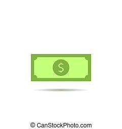 Dollar vector icon