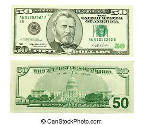 dollar, vijftig