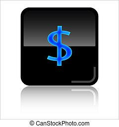 Dollar web icon