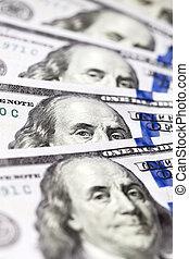 dollari americani, primo piano