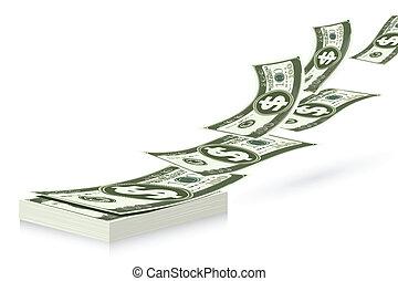 dollaro, fascio