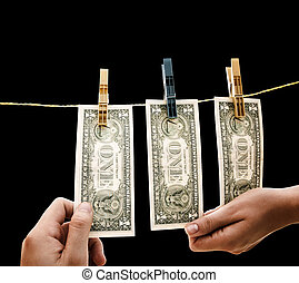dollars, на, провод