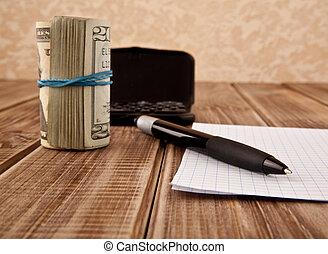 dollars, ручка