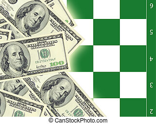 dollars and chess
