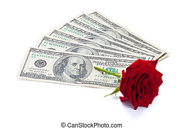 dollars and rose