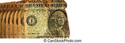 dollars, andelar, bread