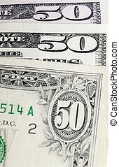Dollars background fifty one