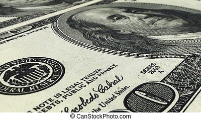 Dollars Background (Loop)